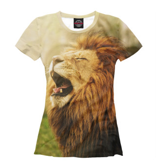 Футболка женская Лев (6760)