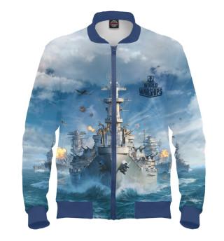Бомбер мужский World of Warships (7165)