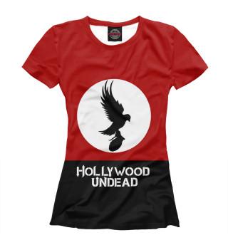 Футболка женская Hollywood Undead (6723)