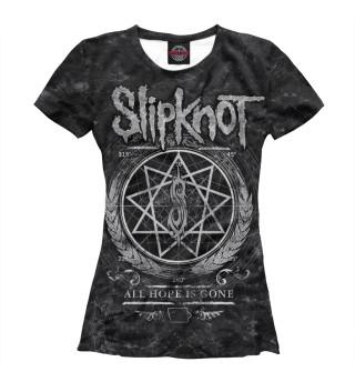 Футболка женская Slipknot (3322)