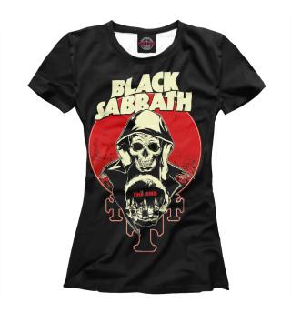 Футболка женская Black Sabbath (3127)