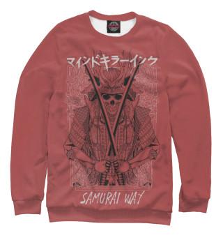 Одежда с принтом Samurai Way