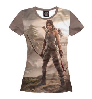 Футболка женская Tomb Raider (3949)