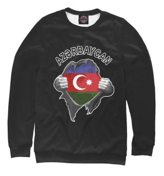 Одежда с принтом Азербайджан (118193)