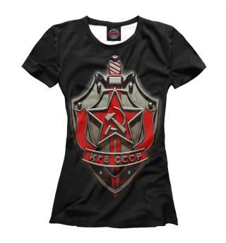 Футболка женская КГБ (1542)