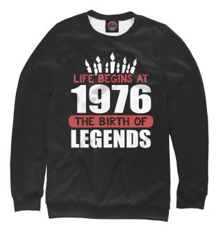 Одежда с принтом 1976 - рождение легенды
