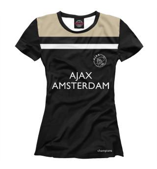 Футболка для девочек Ajax (7419)