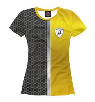 Футболка женская LAMBORGHINI (9500)