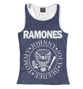 Майка борцовка женская Ramones (2278)