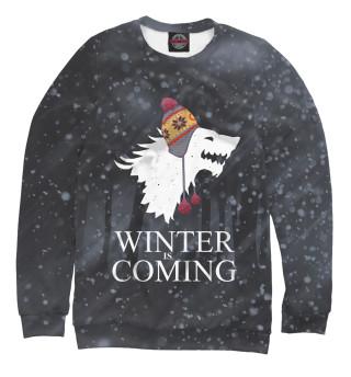 Одежда с принтом Зима близко