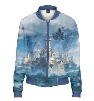 Бомбер женский World of Warships (7102)