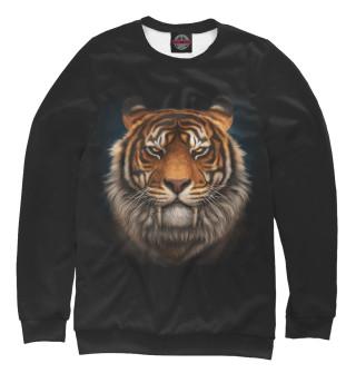 Одежда с принтом Стильный тигр