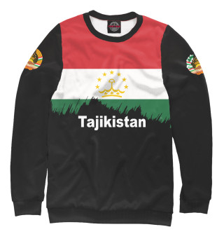 Свитшот, Футболка, Майка, Майка борцовка, Худи, Лонгслив, Штаны, Спортивный костюм, Маска  Tajikistan (961975)