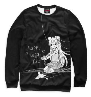 Одежда с принтом Happy sugar life