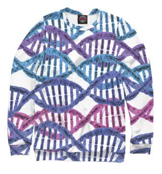 Одежда с принтом ДНК