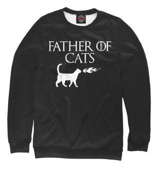 Одежда с принтом Отец котов
