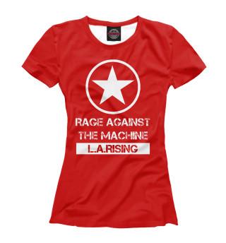 Футболка женская Rage Against the Machine (9118)