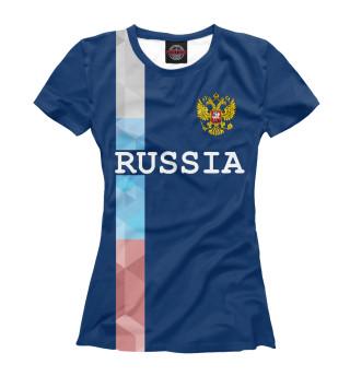 Футболка женская Russia (8172)