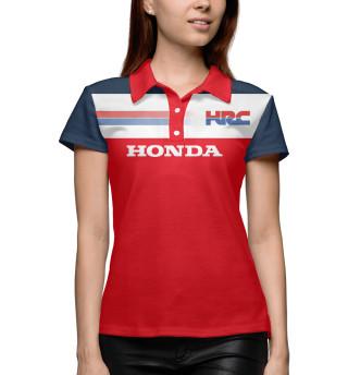 Поло женское Honda