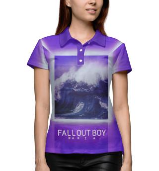 Поло женское Fall Out Boy MANIA (6320)