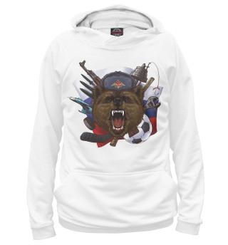 Худи женское Русский медведь