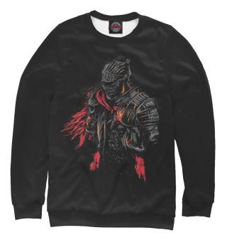 Одежда с принтом Воин пепла
