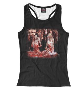 Майка борцовка женская Cannibal Corpse (744)