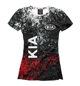 Футболка женская KIA