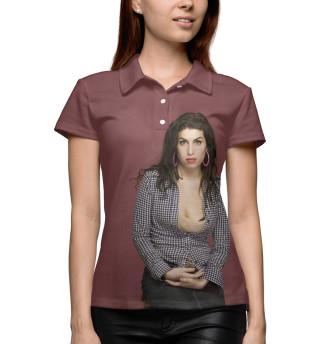 Поло женское Amy Winehouse (8471)