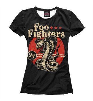 Футболка женская Foo Fighters (7318)