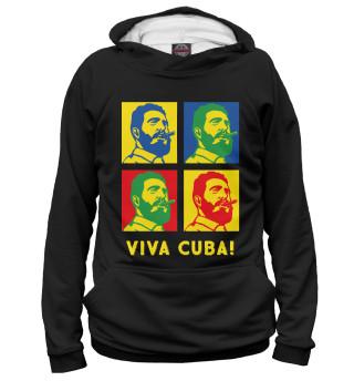 Худи женское Viva Cuba