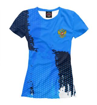 Футболка женская Russia Sport Uniform