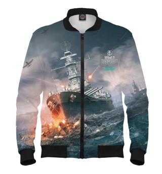 Бомбер мужский World of Warships