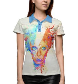 Поло женское David Bowie