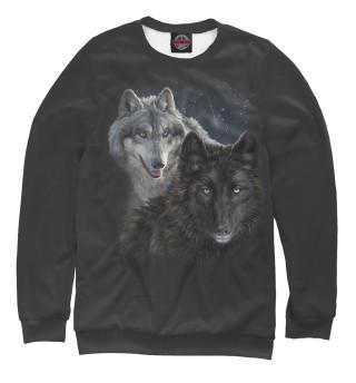 Одежда с принтом Волки (243640)