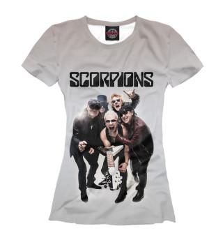 Футболка женская Scorpions (8910)