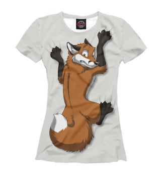 Футболка женская Fox