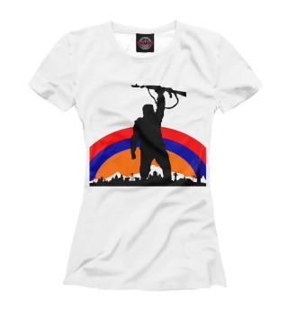 Футболка женская Армения (7250)