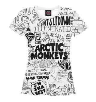 Футболка женская Arctic Monkeys