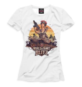 Футболка женская World of Tanks Blitz (5337)