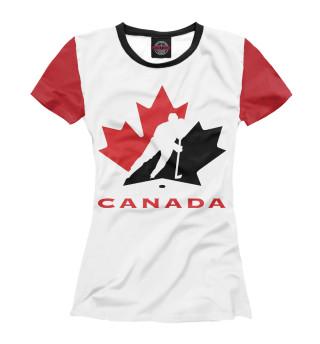 Футболка женская Канада
