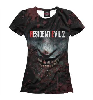 Футболка женская Resident Evil 2 Remake