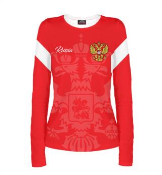 Лонгслив  женский Россия (6903)