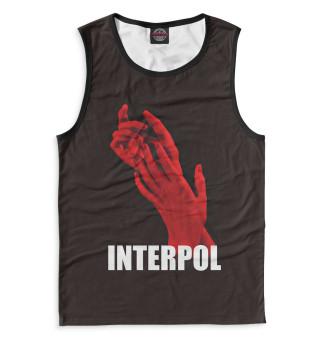 Майка мужская Interpol (5230)