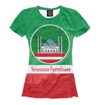 Футболка женская Чечня (529)