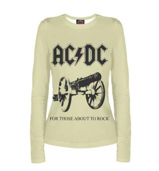 Лонгслив  женский AC/DC (6771)