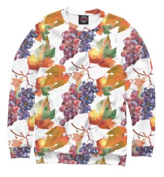 Одежда с принтом Виноград