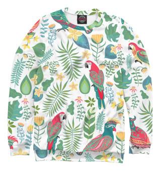 Одежда с принтом Попугаи (765745)