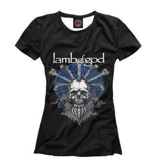 Футболка женская Lamb Of God (1315)