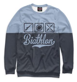 Одежда с принтом Биатлон (590991)